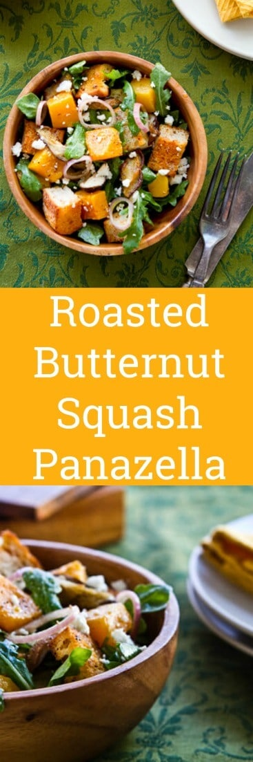 This spanish influenced Roasted Butternut Squash Panzanella Salad with Sherry Vinaigrette recipe bursts with flavor using this one simple technique.