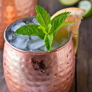 Ruby Red Moscow Mule