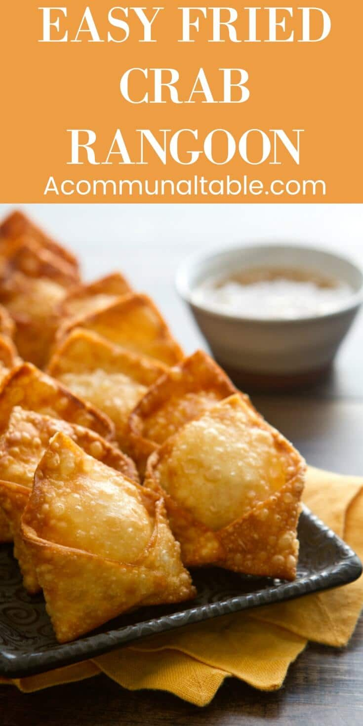 Creamy, crunchy and crabby... this Crab Rangoon recipe is an